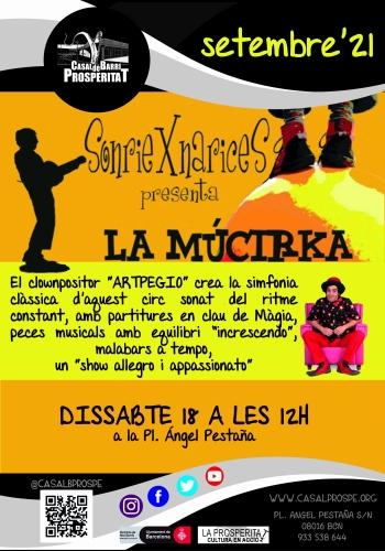 Espectacle infantil - La Múcirka (cia. Sonriexnarices)