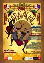 Cartell oficial del Carnaval 2016 al barri